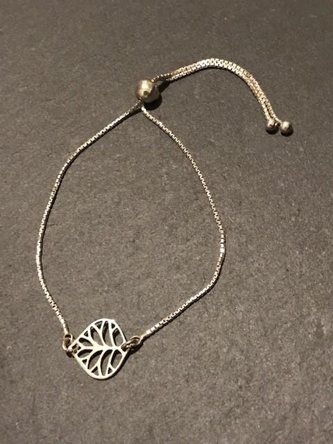 Leaf Adjustable Bracelet