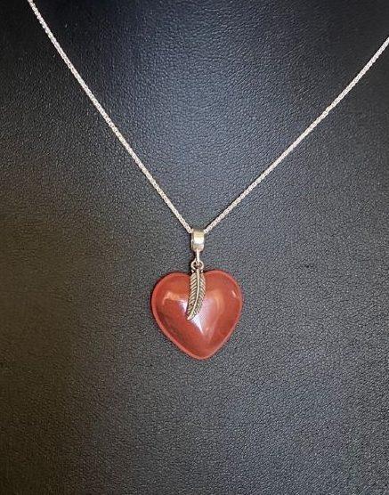 Harmony Heart Gemstone Pendant & Chain