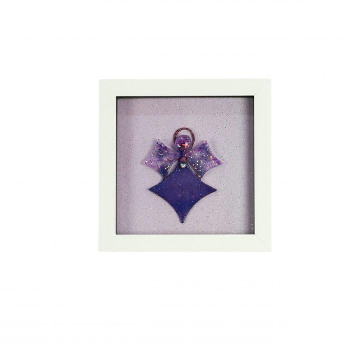 Angel Picture Purple