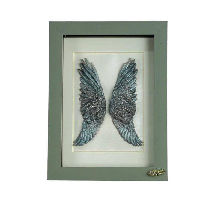 Angel Wings Framed