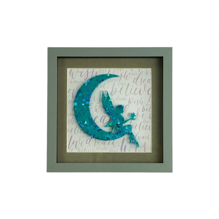 Fairy In The Moon Blue