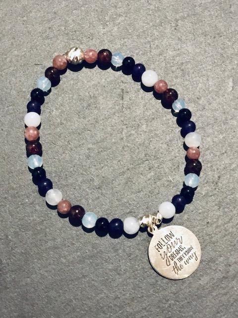 Galene Gemstone Bracelet