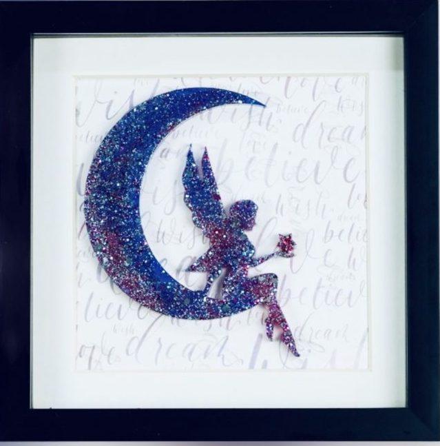 Fairy In The Moon Purple