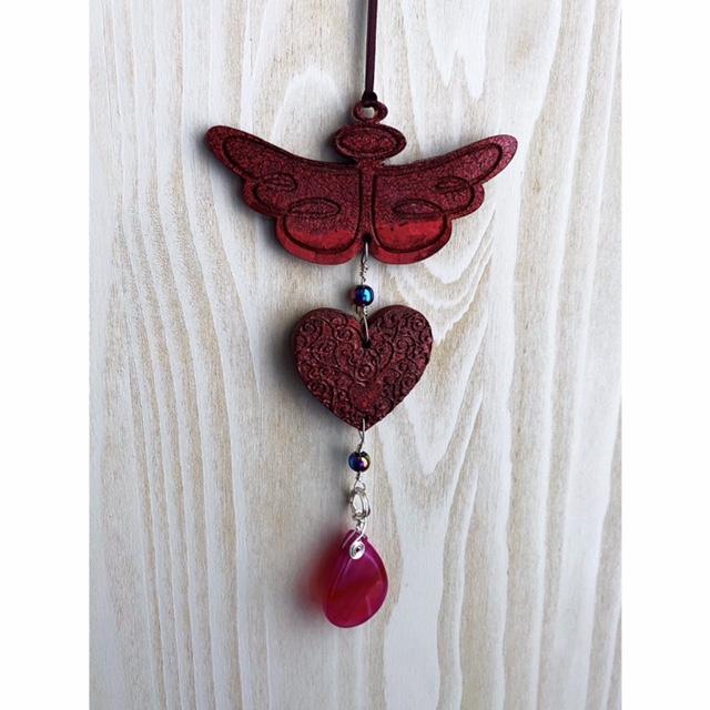 Red Angelic Mala